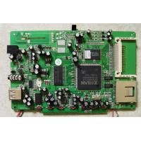 OEM DVD Player PCB Single Sided Circuit Board Assembly Services
