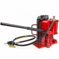 Buy cheap Red 32 Ton Ram Saddle Air Operated Bottle Jack Steel Material product