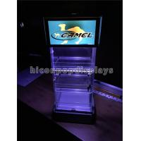China Led Lighting Commercial Tobacco Cigarette Display Showcase For Merchandising wholesale