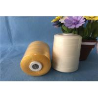 China White 100% Sewing Machine Thread / Smooth Poly Core Spun Sewing Thread , OEKO Listed on sale