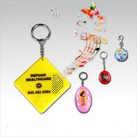 China Mini custom sound keychain with custom logo for promotional gifts on sale
