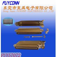 Buy cheap Amphenol 2.16mm Pitch 64 pin IDC Crimping Plug connector 32 pairs Male Type product