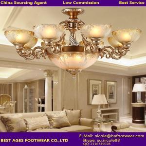 Buy cheap горячее освещение люстры современного дизайна надувательства 2015 янтарное стеклянное для АГЕНТА product