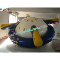 Buy cheap Customized Durable Inflatable Boat Toys Saturn Rocker With Stainless Steel Anchor Ring product