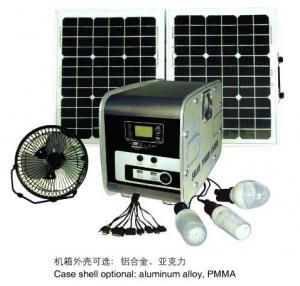 Buy cheap Портативная система солнечной энергии ДК системы солнечной энергии 30В с функцией МП3 product