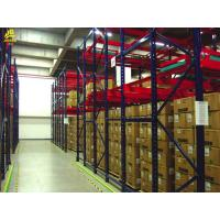 China Adjustable Pushback Racking System , Steel Heavy Duty Pallet Racking on sale