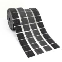 Buy cheap Black / White Self Adhesive Hook And Loop Dots , Nylon Sticky Back Coins product