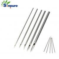 China Custom Disposable SS304 316 Medical Needle Sterilized Piercing Tattoo Needles on sale