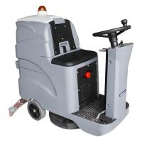 Buy cheap Convenient Ride On Floor Scrubber Dryer Electronic Throttle Control Speed product