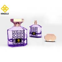 Buy cheap new design perfume empty bottle glass 100ml container crimp on neck perfume product