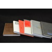 Buy cheap Red Custom Paper Notebooks Personalized , Recyclable Notebooks from wholesalers