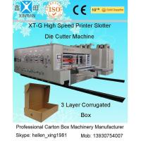 Buy cheap Automatic Corrugated Carton Making Machine Slotter Die Cutter Lead Edge Feeding product