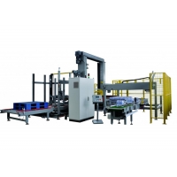 Buy cheap Intelligent Automatic Palletizing Machine For Food Beverage product