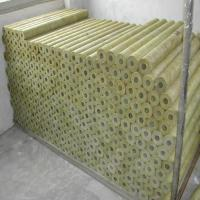 China Fireproof Rock Wool Pipe/ Mineral Wool Tube on sale