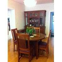 High grade solid wood dining table made of high quality for High quality dining room furniture