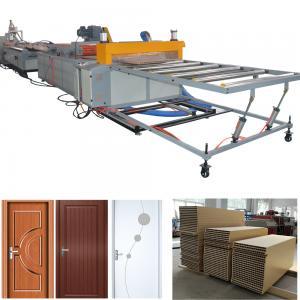 Buy cheap PVC WPC door production line WPC wood plastic composite door machine product