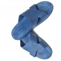 Buy cheap Anti static ESD Slipper Cross Type SPU Material Color Blue Black White w/ESD Logo product