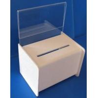 Buy cheap OEM and ODM Design Acrylic Donation Box with Lock and Key product