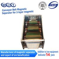 Buy cheap Professional Production Belt Rolls Type Magnetic Separator Machine product