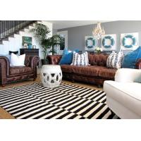 Buy cheap Wholesale White And Black Strip Zebra Carpet Cheap Aera Rugs Of 2017 New Design Residential Rug BV And SGS Certified product