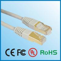 Buy cheap Network Cable/Lan Cable UTP CAT5e 24AWG Pass Fluke Tes product