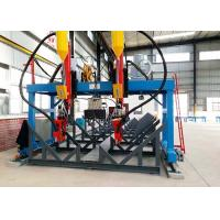 Buy cheap 200-800 Mm Web Width H Beam Production Line LMH-5000 Automatic Customized Rail Distance product
