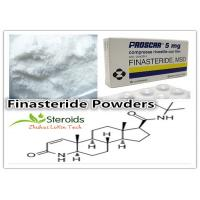 China Bulking Cycle Finasteride / Proscar Homebrew Steroids Raw Hormone CAS 98319-26-7 Powder wholesale