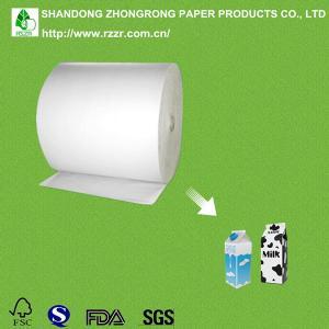 Buy cheap ミルク箱のための PE の上塗を施してあるボール紙 product