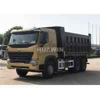 Buy cheap Howo A7 Dump Truck / Sinotruk Howo 6x4 Dump Truck 40 Ton Loading Capacity from wholesalers