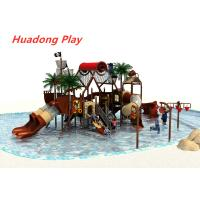 Buy cheap Water Park Series Outdoor Play Ground Equipment , Kids New Design Slide from wholesalers