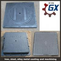 Buy cheap ductile cast iron square manhole cover product