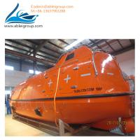 Buy cheap 200 Persons MSC Standard FRP Fiber Glass Lifeboat Used Cruise Ships For Sale product