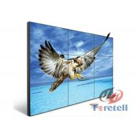 China Widescreen Monitors LCD Video Wall System In Shopping Centers Cabinet Installation on sale