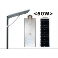 China 50000 Hours Integrated Solar Energy Street Lights CRI 85 120° Viewing Angle wholesale