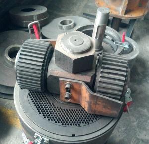 Buy cheap Poultry Feed Pelletizer-Diesel Flat Die Feed Pellet Mill product