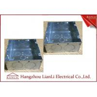 "Buy cheap Hot Dip Metal Conduit Box , Metallic Galvanized 5"" * 5""  Steel Outlet Box product"