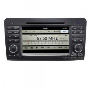 Buy cheap Car Stereo Mercedes Benz Sat Nav DVD ,  ML GL Class GPS Navigation VBZ7823 product