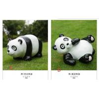 China Polyresin Panda Garden Decoration  recycling materials on sale