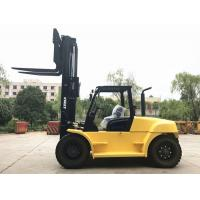 Buy cheap 10 Ton Capacity Industrial Forklift Truck , FD100 Counterbalance Reach Truck from wholesalers