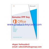Buy cheap Home / Business Microsoft Office Product Key Code, Genuine Office 2013 FPP key from wholesalers