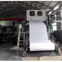 China 1092mm Small toilet paper making machine price 2-3TPD tissue paper processing line on sale