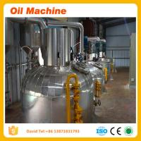 Buy cheap sunflower oil making machine for extraction refining and dewaxing processing machine price product