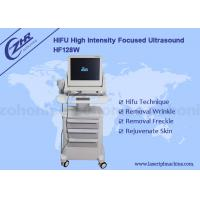 China High Intensity Focused Ultrasound Hifu Anti wrinkle machine With Lasting Effect wholesale