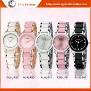 Buy cheap El brazalete del reloj de la pulsera del rosa KM02 mira el reloj del cuarzo de señora reloj KIMIO de la oficina de las muchachas de la mujer product
