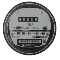 Buy cheap Three Phase Electromechanical Socket Energy Meter , Small and Durable 120V 240V product