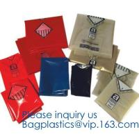 China Yellow Autoclavable Biohazard Bags Hazardous Waste Asbestos Garbage Large Storage on sale