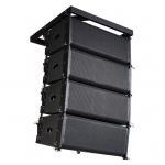 Línea bidireccional compacta sistema de sonido del arsenal para el aire libre/dentro, tamaño de 10 pulgadas
