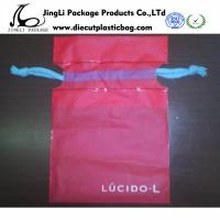 Buy cheap small Durable Food Plastic Bags personalized drawstring bags , Red  product