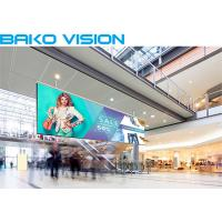 Buy cheap High Resolution Indoor Led Advertising Screen Media Rental / Fixed LED Display product
