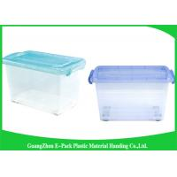 Buy cheap Light Weight Clear Storage Boxes New PP Waterproof Household Portable With Lid product